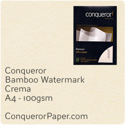 Paper Bamboo Crema A4-210x297mm 100gsm