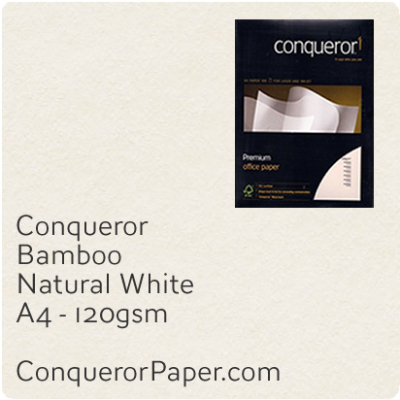 Paper Bamboo Natural White A4-210x297mm 120gsm