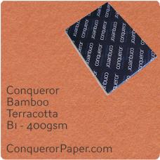Paper Bamboo Terracotta B1-700x1000mm 400gsm