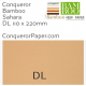 Envelopes Bamboo Sahara DL-110x220mm 120gsm