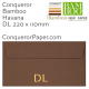 Envelopes Bamboo Havana DL-220x110mm 120gsm