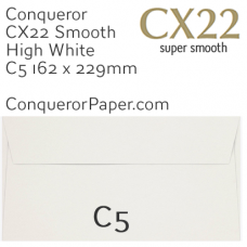 Envelopes CX22 High White C5-162x229mm 120gsm