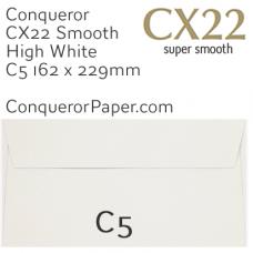 Envelopes CX22 High White C5-162x229mm 120gsm