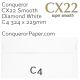 Envelopes CX22 Diamond White C4-324x229mm 120gsm