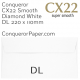 Envelopes CX22 Diamond White DL-220x110mm 120gsm Pocket