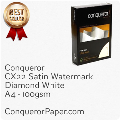Paper CX22 Diamond White A4-210x297mm 100gsm