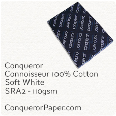 Paper Connoisseur Soft White SRA2-450x640mm 110gsm