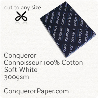 Paper Connoisseur Soft White SRA2-450x640mm 300gsm