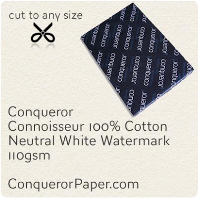 Paper Connoisseur Natural White SRA2-450x640mm 110gsm