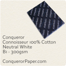 Paper Connoisseur Natural White B1-700x1000mm 300gsm