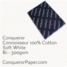 Paper Connoisseur Soft White B1-700x1000mm 300gsm