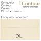 Envelopes Contour Cream DL-110x220mm 120gsm