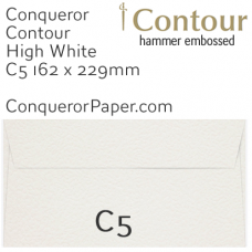Envelopes Contour High White C5-162x229mm 120gsm
