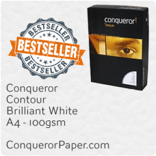 Paper Contour Brilliant White A4-210x297mm 100gsm