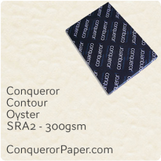 Paper Contour Oyster SRA2-450x640mm 300gsm