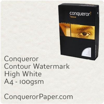 Paper Contour High White A4-210x297mm 100gsm