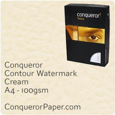 Paper Contour Cream A4-210x297mm 100gsm
