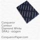 Paper Contour Diamond White SRA2-450x640mm 100gsm