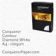 Paper Contour Diamond White A4-210x297mm 100gsm