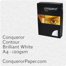 Paper Contour Brilliant White A4-210x297mm 120gsm