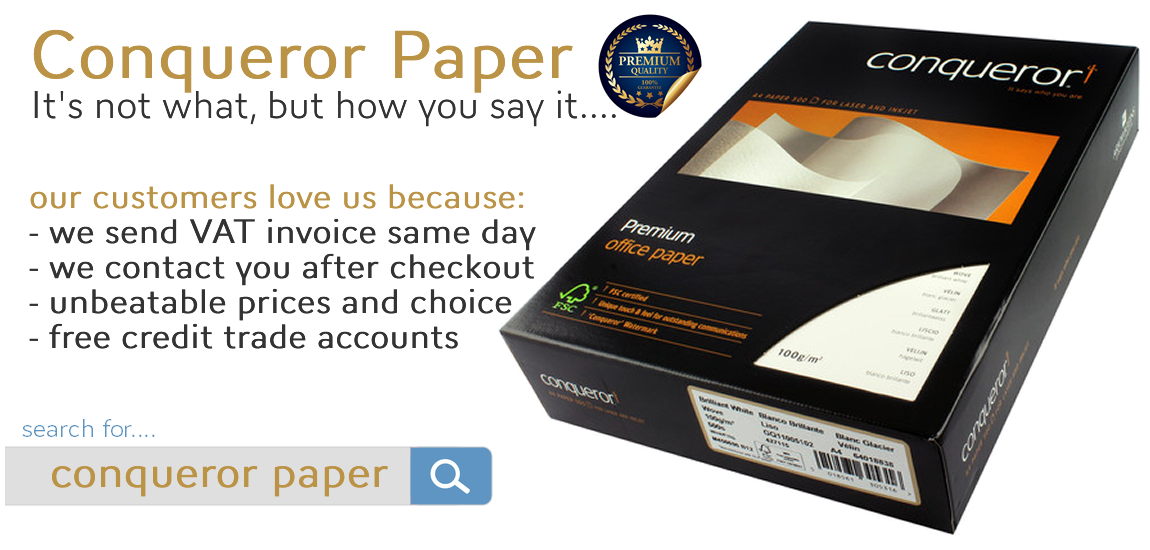 Conqueror-Paper.co.uk