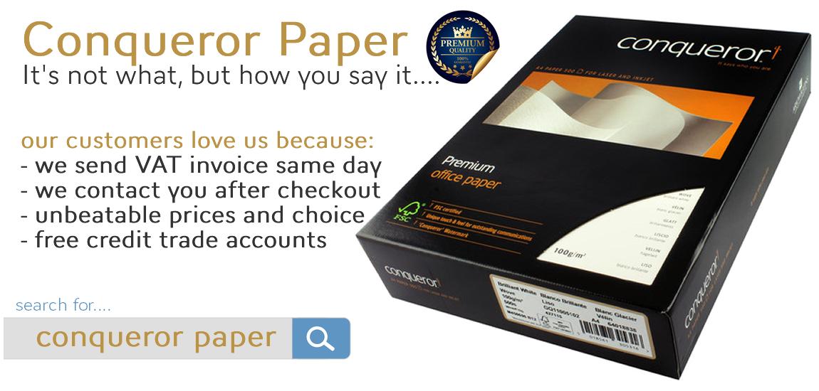 Conqueror-Paper.co.uk