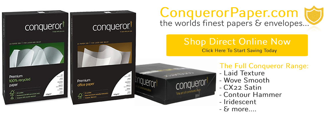 Welcome To Conqueror Paper