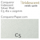 Envelopes Iridescent Silver Mist C5-162x229mm 120gsm