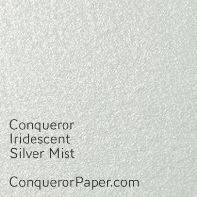 Iridescent Silver Mist