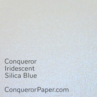 Iridescent Silica Blue