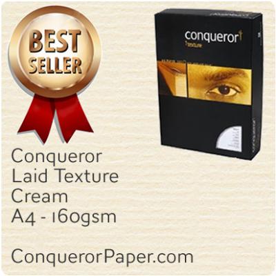 Paper Laid Cream A4-210x297mm 160gsm