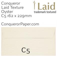 Envelopes Laid Oyster C5-162x229mm 120gsm