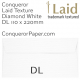 Envelopes Laid Diamond White DL-110x220mm 120gsm