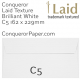 Envelopes Laid Brilliant White C5-162x229mm 120gsm