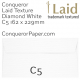 Envelopes Laid Diamond White C5-162x229mm 120gsm