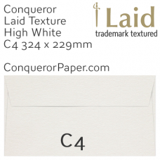 Envelopes Laid High White C4-324x229mm 120gsm