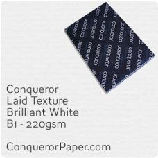 Paper Laid Brilliant White B1-700x1000mm 220gsm