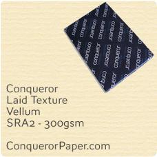Paper Laid Vellum SRA-450x640mm 300gsm
