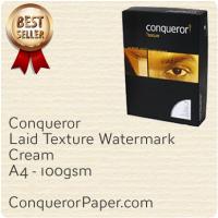 Paper Laid Cream A4-210x297mm 100gsm
