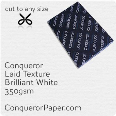 Paper Laid Brilliant White SRA2-450x640mm 350gsm