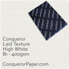 Paper Laid High White B1-700x1000mm 400gsm