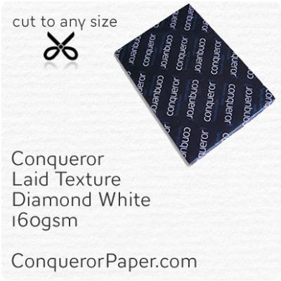 Paper Laid Diamond White B1-700x1000mm 160gsm