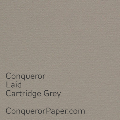 Laid Cartridge Grey