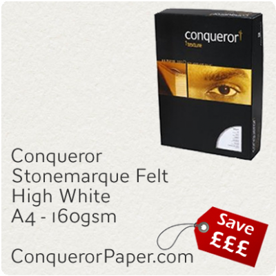 Paper Stonemarque High White A4-210x297mm 160gsm