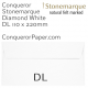 Envelopes Stonemarque Diamond White DL-110x220mm 120gsm