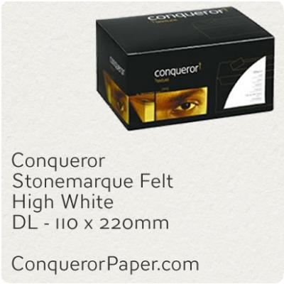 Envelopes Stonemarque High White DL-110x220mm 120gsm