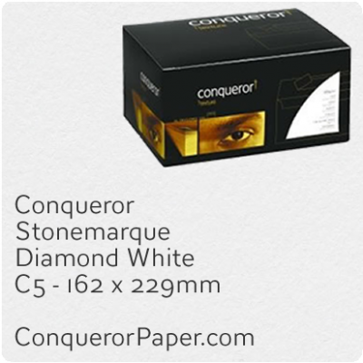 Envelopes Stonemarque Diamond White C5-162x229mm 120gsm