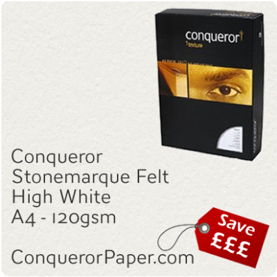 Paper Stonemarque High White A4-210x297mm 120gsm