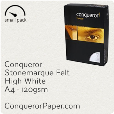 Paper Stonemarque High White A4-210x297mm 120gsm 50 Sheets
