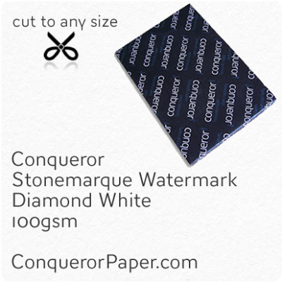 Paper Stonemarque Diamond White SRA2-450x640mm 100gsm